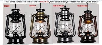 rustic lantern pendant light quality european american vintage rustic lantern kerosene oil ls