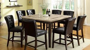 bar stools outstanding tall dining room tables counter high set