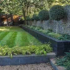 Family Garden Design Ideas Shallow Garden Small Shallow Contemporary Garden Design In