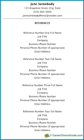 sample of reference in resume sample reference list template 5