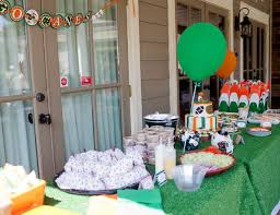 party supplies miami football birthday miami hurricanes football pool party food