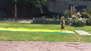 Backyard Slip N Slide How To Properly Use A Slip N Slide Gif On Imgur
