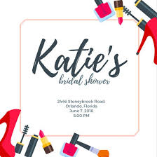 bridal invitation templates customize 136 bridal shower invitation templates online canva