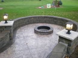 the outdoor fire pit kits and the idea about its special design