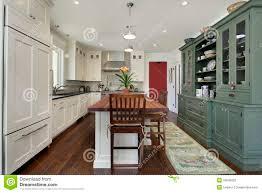 kitchen stove top island stock images 813 photos kitchen with wood top island royalty free stock image