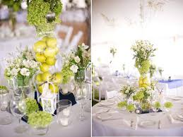 unique wedding centerpieces wedding centerpieces using fruit green apples