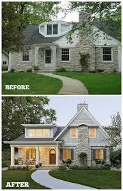 20 home exterior makeover before and after ideas home remodel front of house photogiraffe me