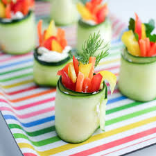 fresh cucumber roll ups healthy ideas for kids