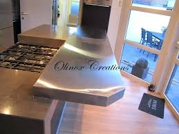 plan de travail inox cuisine professionnel plan travail inox tablette complacmentaire en inox brossac plan de