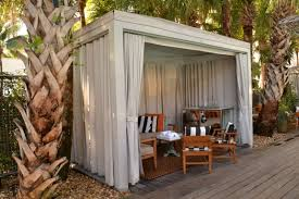 Pool Shed Ideas Pool Cabana Curtains Business For Curtains Decoration