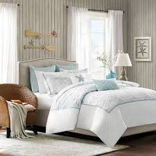 Coastal Bed Sets Starfish Sand Dollar Coastal Comforter Bed Set In 4 Sizes