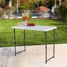 4 foot adjustable height table portable utility table 4 foot adjustable height folding dj outdoor