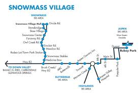 Greyhound Bus Routes Map by Snowmass Village Bus Map U0026 Route Schedule Rfta