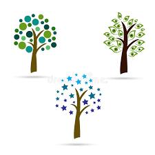 creative trees stock vector image 52184793