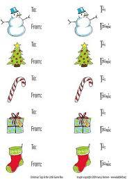 free printable christmas gift tag templates for word template