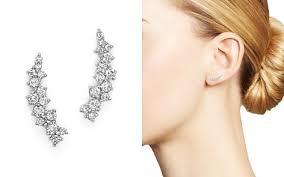 ear climber earrings ear climbers bloomingdale s