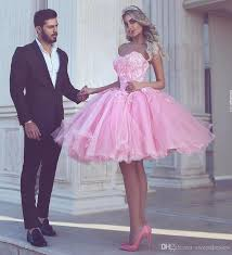 charming 2017 beads prom dress cheap party dresses pink tulle
