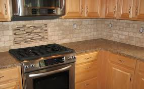 Travertine Tile Backsplash Autoauctionsinfo - Travertine tile backsplash