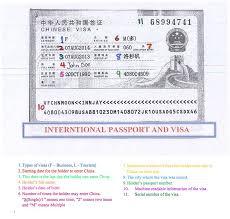 china visa international passport u0026 visa