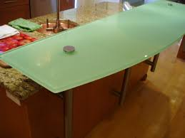 Bar Counter Top Regular Glass Countertops Brooks Custom