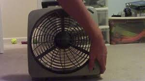 o2cool 10 inch battery or electric portable fan o2 cool battery powered fan youtube