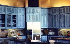modern blue kitchen cabinets with blue kitchens beautiful image 2