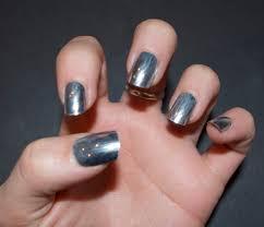 nail trend metallic glamour boe magazine