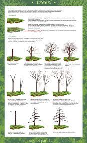 tree tutorial part 1 by calisto lynn on deviantart