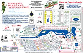 Lake Charles Louisiana Map by Park Map Yogi Bear U0027s Jellystone Park Robert La