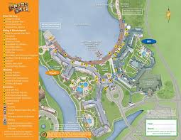 walt disney resort map april 2017 walt disney resort hotel maps photo 18 of 33