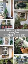 Landscape Curb Appeal - appeal and landscaping ideas from fixer upper