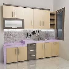 furniture kitchen sets contoh kitchen set sederhana dapur minimalis idaman