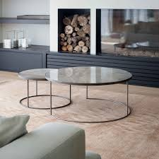 round nesting coffee table buy clear heavy aged mirror round nesting coffee table set online