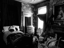 victorian gothic themed bedroom home design ideas