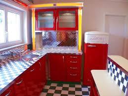 amerikanische küchen retro küche nostalgie küchenmöbel - Diner K Che