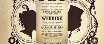 steunk wedding invitations amazing steunk wedding invitations 22 sheriffjimonline