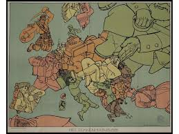 Europe After World War 1 Map europe 1914 u0026quot the madhouse u0026quot oneeurope