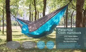 amazon com newdora camping hammocks garden hammock ultralight