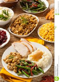 pic of thanksgiving dinner homemade turkey thanksgiving dinner royalty free stock images