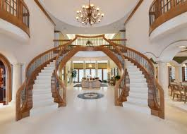 dual staircase in grand foyer luxury homes pinterest foyers dual staircase in grand foyer
