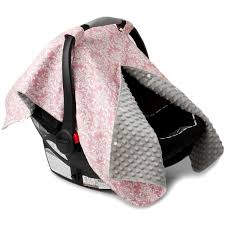 Pink Car Seat Canopy by Pink Damask Car Seat Canopy With Peekaboo Opening Free Shipping