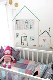 chambre bébé décoration murale déco mur masking