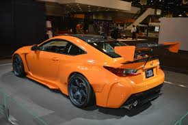 lexus rc f body kits lexus rc f widebody beast ends up in chicago