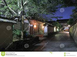 traditional japanese house kanazawa stock photo image 43127808