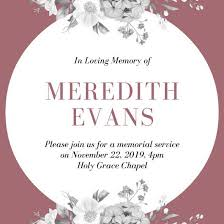 funeral service invitation customize 38 funeral invitation templates online canva