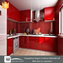 Red Lacquer Kitchen Cabinet Red Lacquer Kitchen Cabinet Suppliers - Red lacquer kitchen cabinets