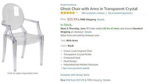 amazon black friday chair this ordered a transparent chair from amazon and what she