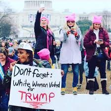 Successful Black Woman Meme - woman in viral photo from women s march to white female allies