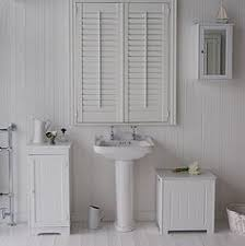 Freestanding Bathroom Furniture White Slim White Painted Bathroom Cabinet Lets Do It Pinterest