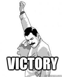 Freddie Meme - victory victory freddie mercury quickmeme